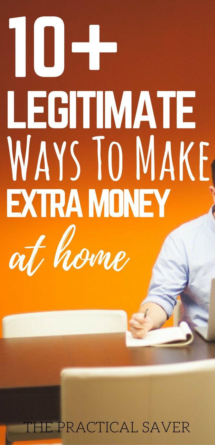 10 Legitimate Ways To Make Money Online