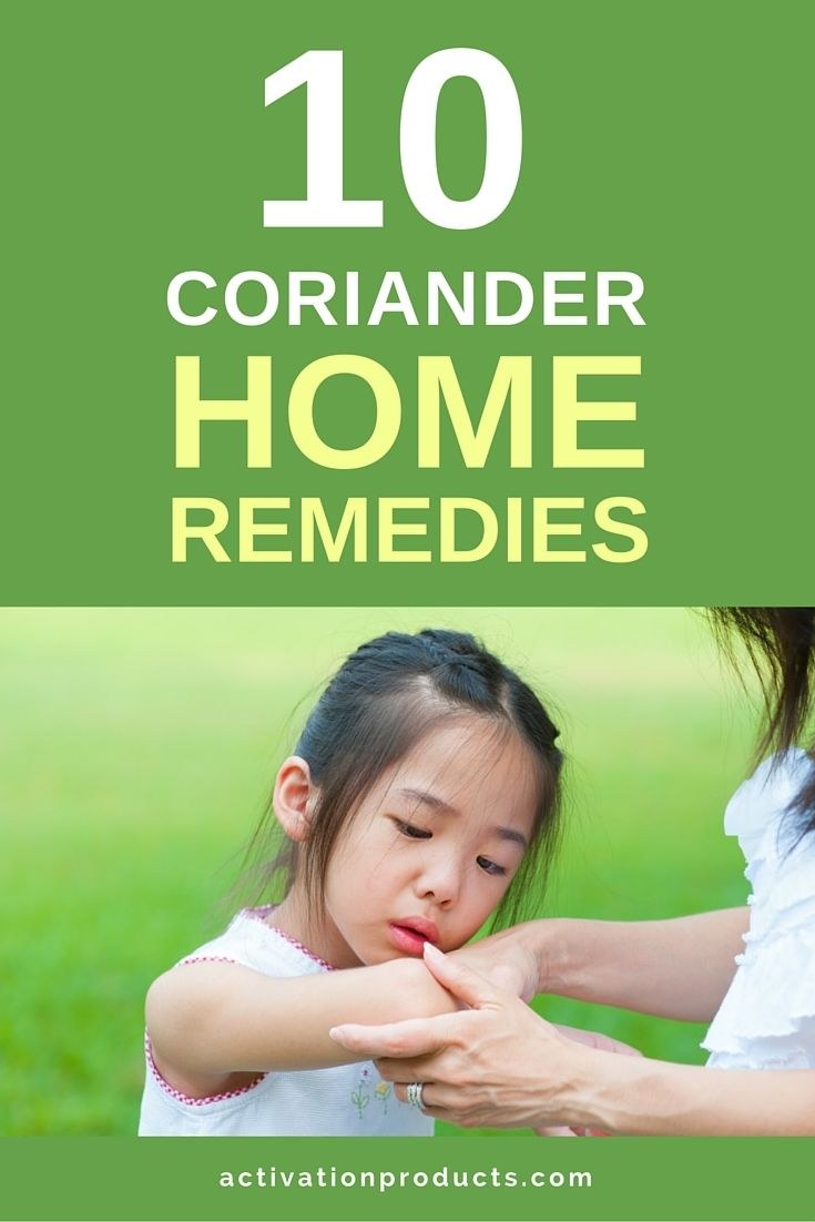 I don't know about you, but I'm always looking for helpful home remedies that can save me a trip to the pharmacy.  We hear reports from customers who use coriander oil for a wide variety of common conditions and ailments all the time.