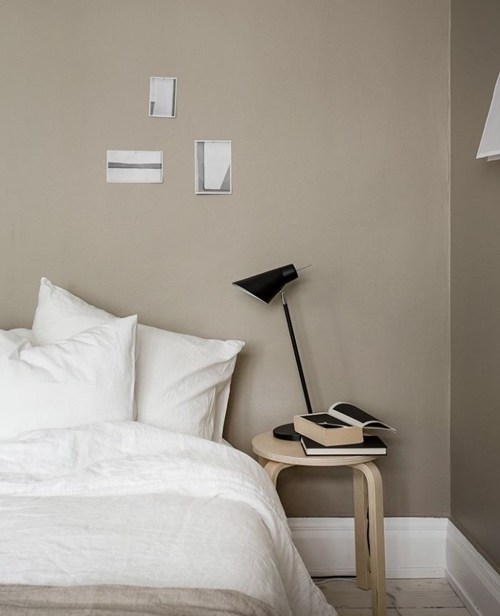 1001 Idees Deco Pour Adopter La Couleur Taupe Clair Chez Vous Deco Chambre Taupe Couleur Taupe Clair Chambre Taupe