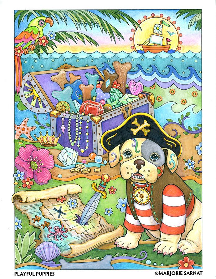 A Pirate Train Engineer Corgi Princess And More Invite You To Create Your Own Color Masterpiece