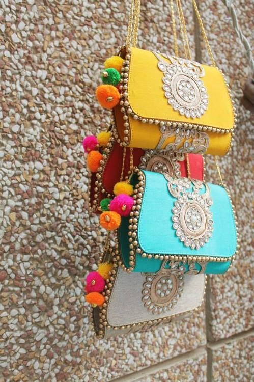 Such colourful clutches #clutch #wedmegood