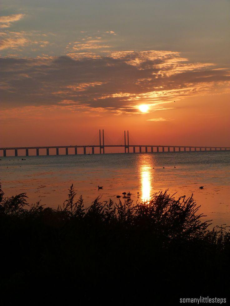 Natur in Schweden erleben ♥ Küste in Malmö & Brücke nach Kopenhagen  #Küste #Strand #Sonnenuntergang #Malmö #Kopenhagen #Brücke #Aussicht #genießen