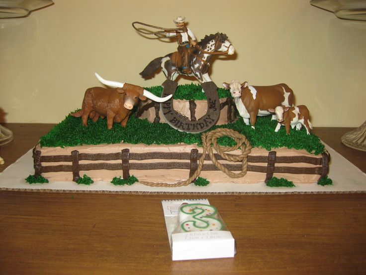 horse birthday cakes for boys | ... the collection of Safari Ltd and Schleich horses to decorate with