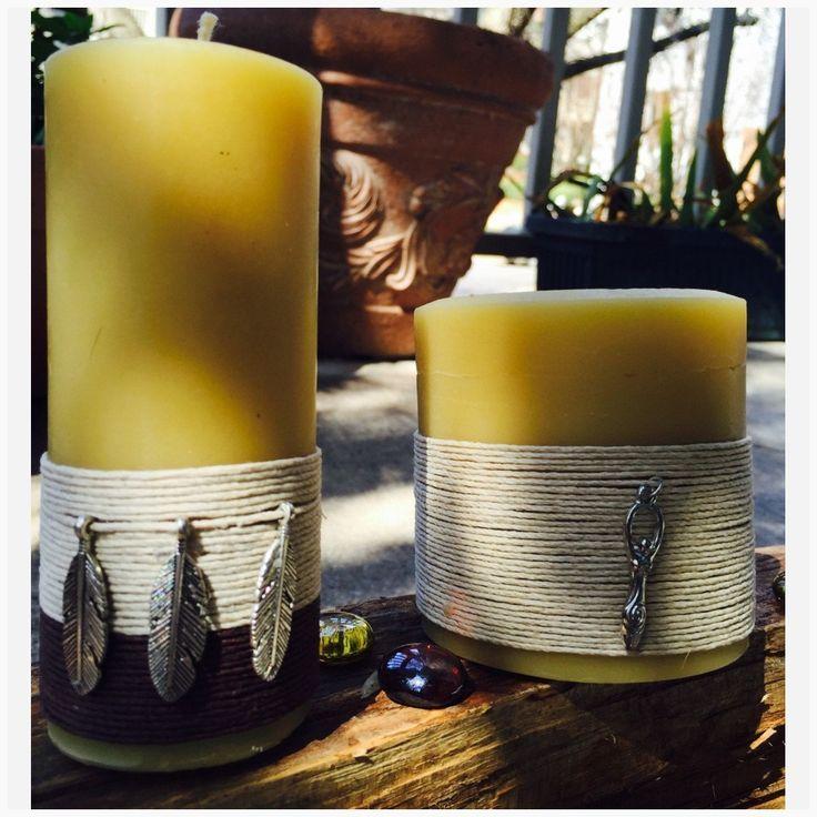 100 Reines Bienenwachs Kerzen Charmed Kerzen Bio Bienenwachs