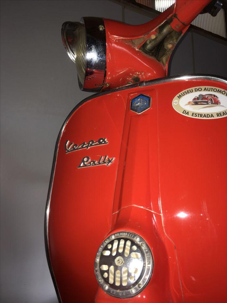 E não é que eu te achei?!?!? Vespa Rally. 1960's. Museu do automóvel Estrada Real