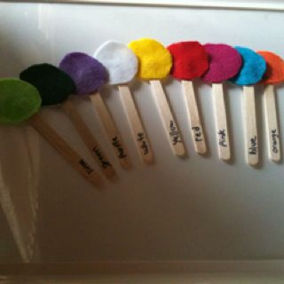 Color pops!   Fun way to learn colors!Mason, Early Prek