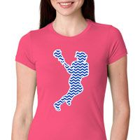 Our t-shirts exemplify your passion for lacrosse! A great fitted sports tee just for girls.