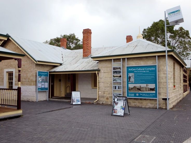 This 19th century limestone courthouse forms the core of the ArtGeo Cultural Complex at Busselton, Western Australia.