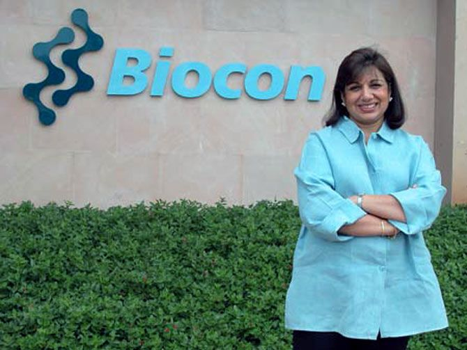Kiran Mazumdar-Shaw is an entrepreneur from India where she started Biocon, a large biotechnology company. She is the Managing Director and Chairman of the company because of which made her the wealthiest woman of her country.