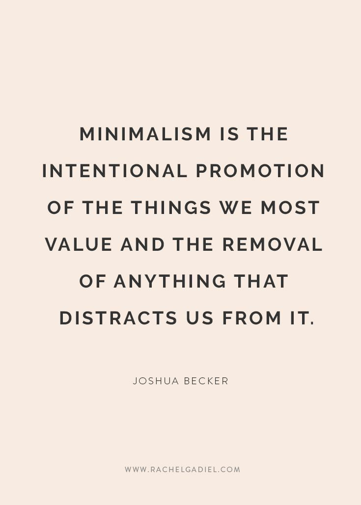 """Minimalism is not defined by what is not there but by the rightness of what is and the richness with which this is experienced"", John Pawson"