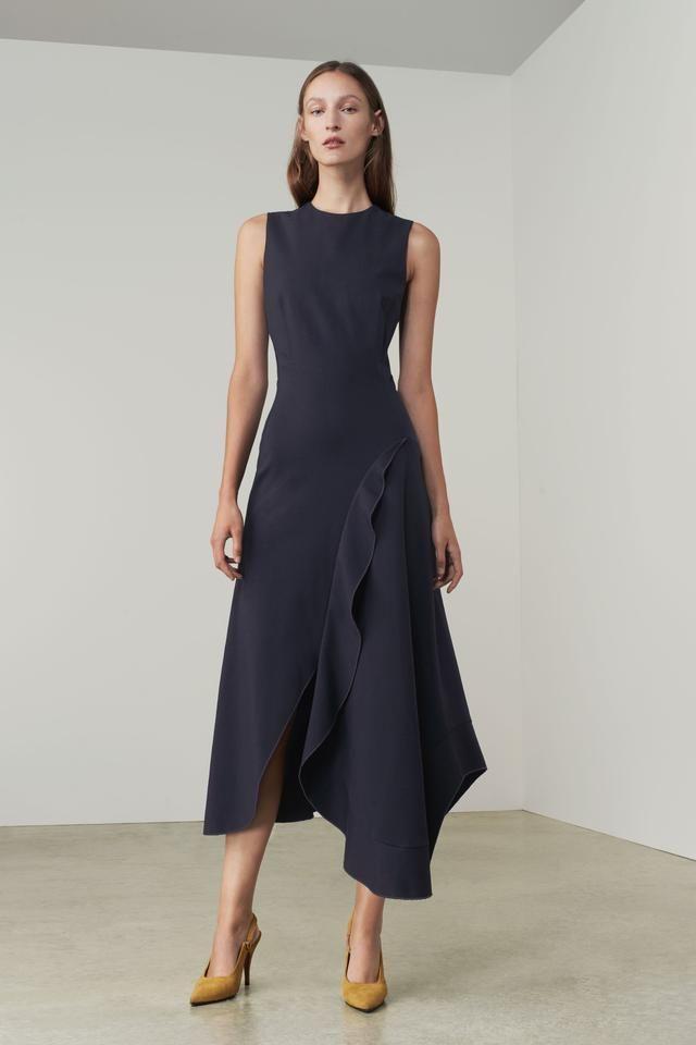 Womens Midi Asymmetric Dress find
