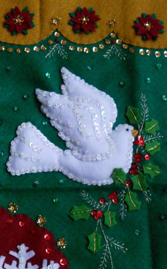 Terminó la Navidad Bucilla media elegancia tradicional