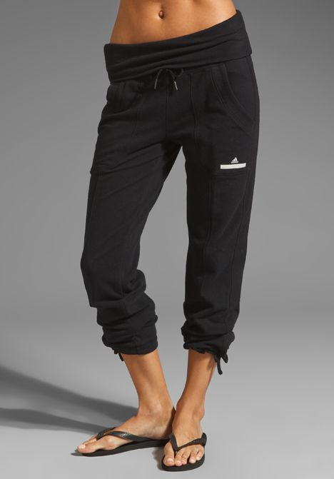 ADIDAS BY STELLA MCCARTNEY Knit Pant in Black