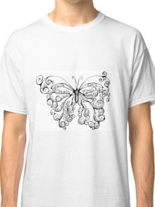 Butterfly Whispers Classic T-Shirt