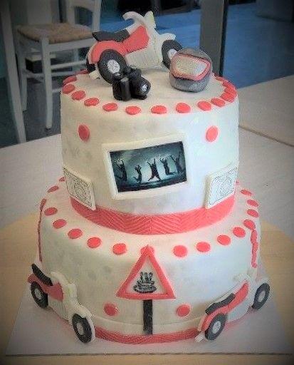 Torta Cake Design ! Moto, Foto e tanti amici!