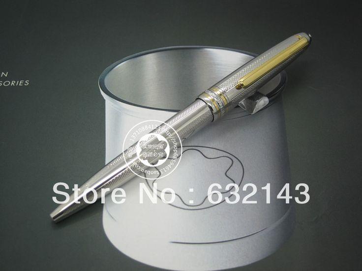 Классический белый Канцелярские ролика шариковая ручка Запонки Набор Роскошный Подарок Коробка Упаковки Классический Вариант