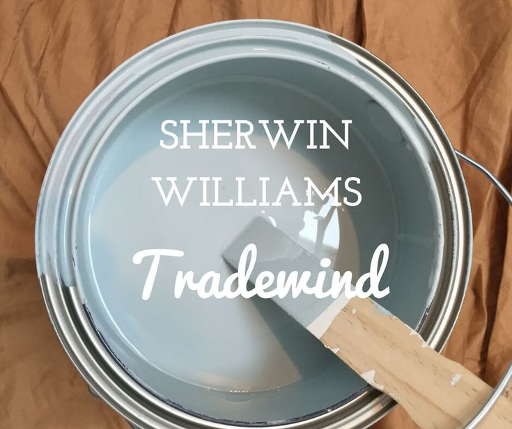 Sherwin Williams Tradewind Paint Color Paint Colors For