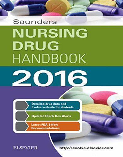 Saunders Nursing Drug Handbook 2016 Pdf Download e-Book