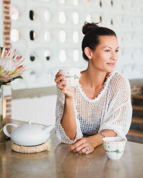 Malia Jones tea