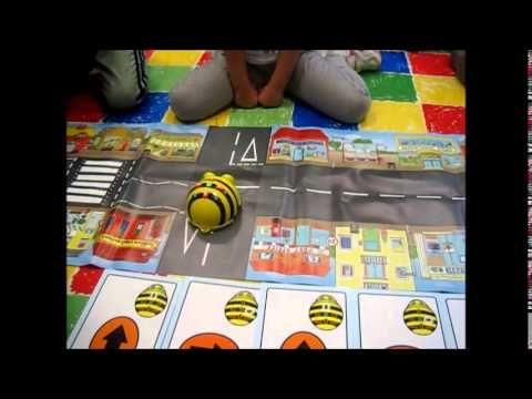 EL VIAJE DE BEE BOT: Juegos libres con Bee Bot