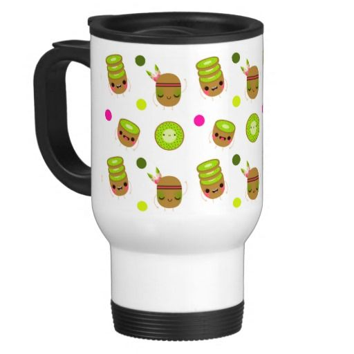 Oh lala tiny kiwi - Travel Mug