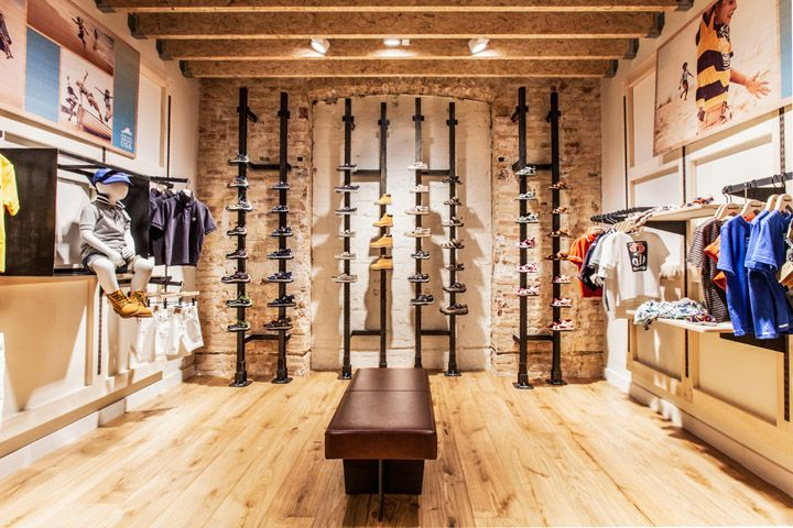 Timberland store by Green Room, Barcelona store design
