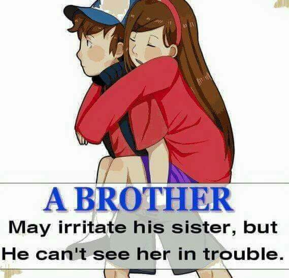 A brother is a friend god gave you & a friend is a brother your heart choose for you  Tag/mention your brother to disturb and convey your love towards him