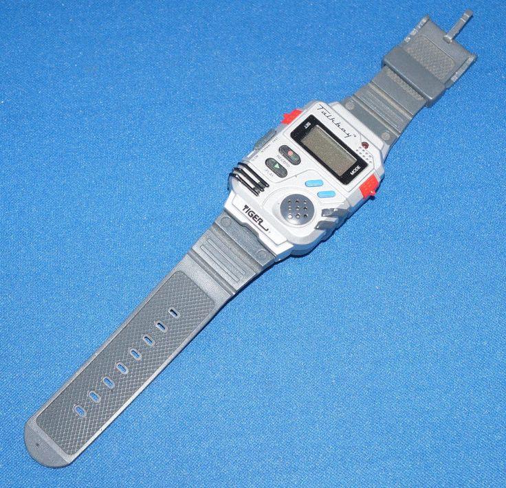 Tiger Electronic Talk Boy Wristwatch Handheld Vintage Toy Kids Home Alone Cool…