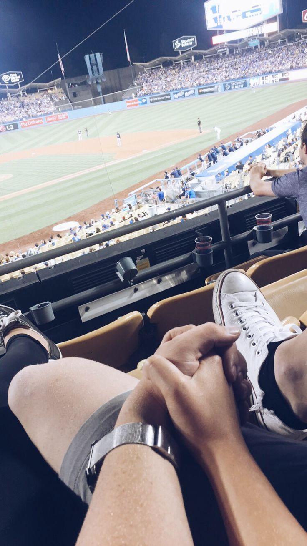 baseball couple