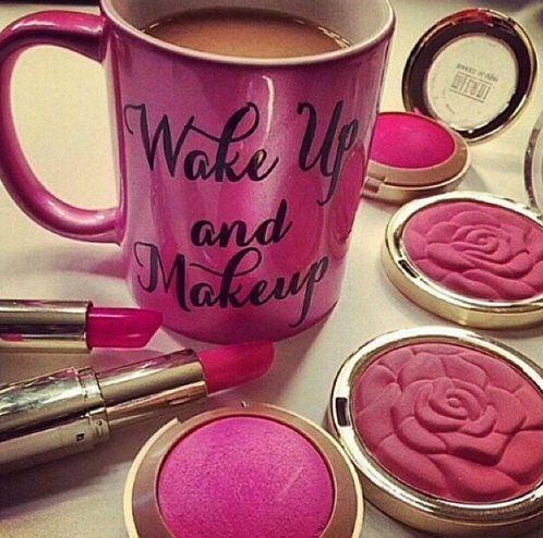 ♡ We love our makeup!! Http://kmcdivitt.avonrepresentative.com #makeup #coffee #wakeupandmakeup