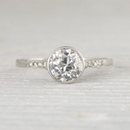 100 Simple Vintage Engagement Rings Inspiration (36)