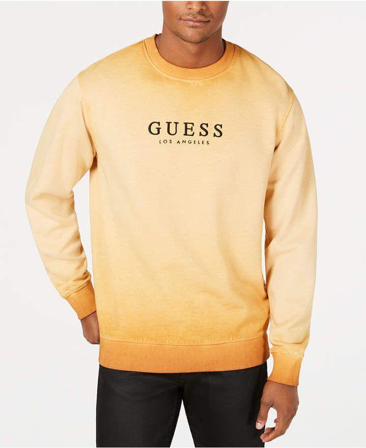GUESS Originals Men's Logo Graphic Sweatshirt & Reviews