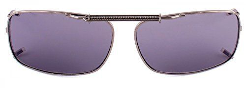 Sport Sonnenbrille Brillen Aufsatz klein Clipon Clip On's Sonnenbrillenaufsatz, Rahmenfarbe:Grün