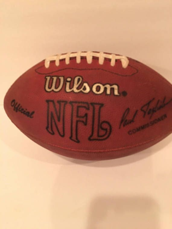 Wilson Official NFL Paul Tagliabue Football  free shipping