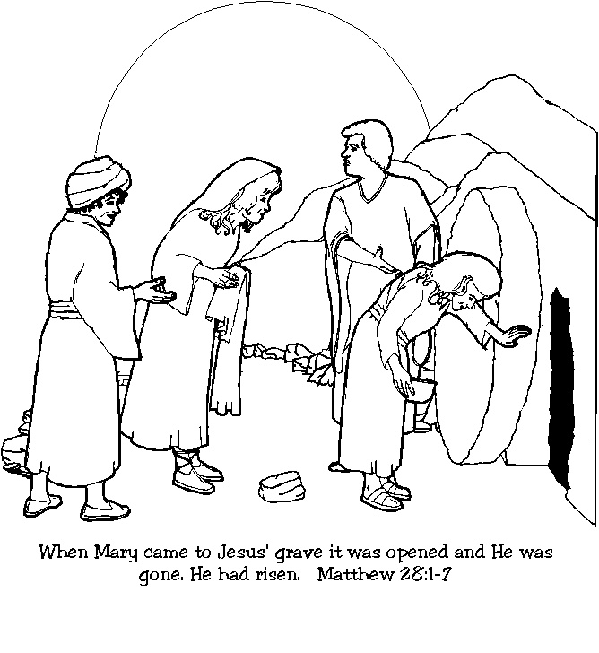 clip art jesus and the tomb - photo #17