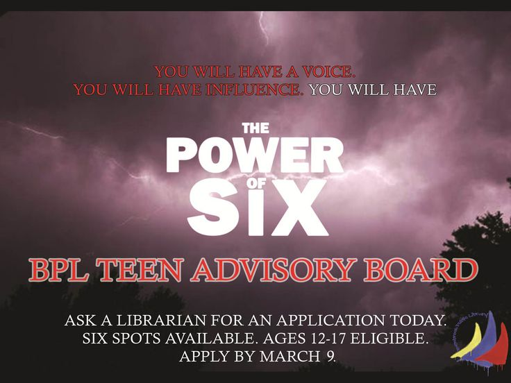 Just for Teens at Benbrook Library!