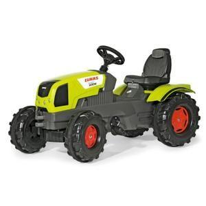 TRACTEUR - CHANTIER ROLLY TOYS Tracteur à Pédales CLAAS AXOS