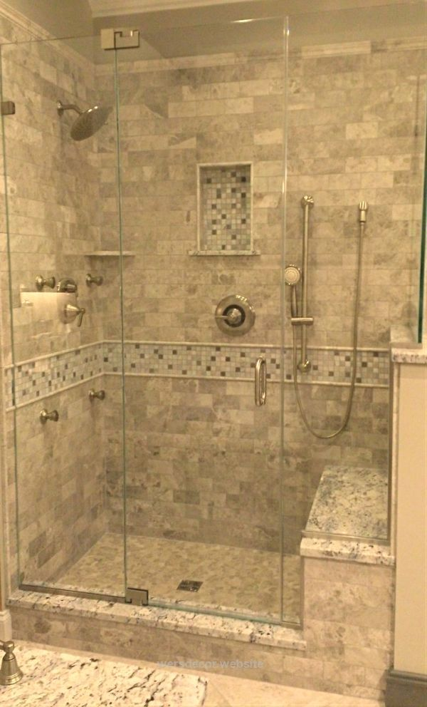 Stone Tile Walk-In Shower Design | Kenwood Kitchens in Columbia, Maryland | Marble Tile Shower with Stone Mosaic | Walk-In Shower with Seated Bench Stone Tile Walk-In Shower Design | Kenwood Kitchens in Columbia, Maryland | Marble Tile Shower with Stone Mosaic | Walk-In Shower with Seated Benc ..  http://www.wersdecor.website/2017/05/04/stone-tile-walk-in-shower-design-kenwood-kitchens-in-columbia-maryland-marble-tile-shower-with-stone-mosaic-walk-in-shower-with-seated-bench/