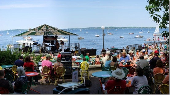 19th annual Isthmus Jazz Fest was in it's last few hours on the Memorial Union Terrace on Lake Mendota, University of Wisconsin.: Isthmus Jazz, Couples Min, Wisconsin, 19Th Annual, Annual Isthmus, Union, Fun Memories, Madison, Jazz Fest
