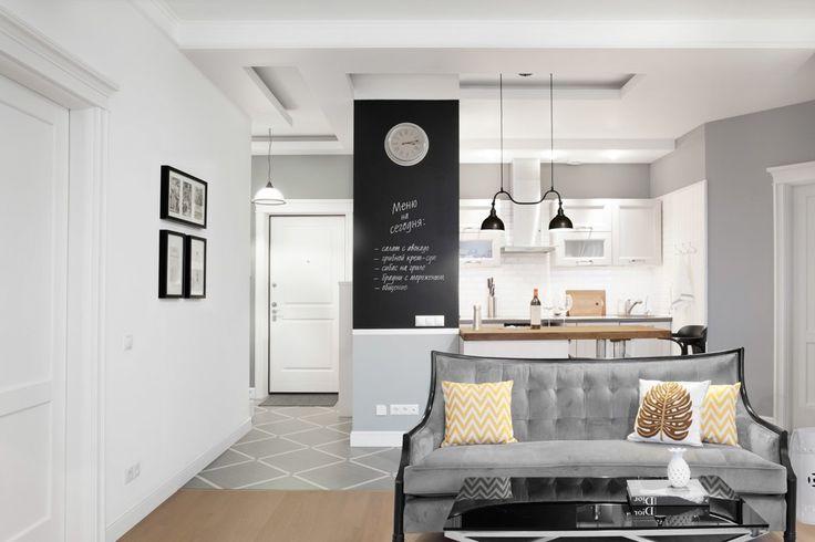 Квартира впослевоенном стиле для молодой семьи. Изображение № 10.