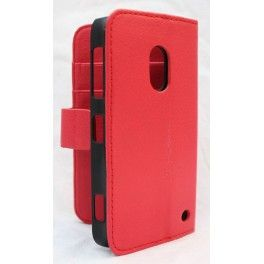 Lumia 620 punainen lompakko suojakotelo.