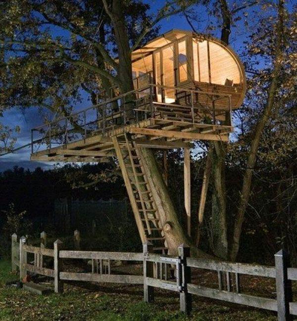 Best Casas En Los Arboles Images On Pinterest Treehouses