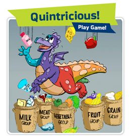 NUTRITION: Fun Online Games for nutrition lessons.
