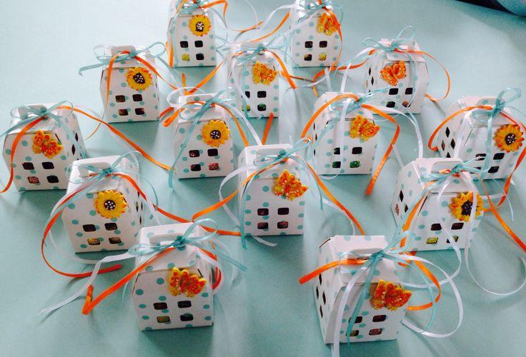 """Scatoline """"lanterne"""" portaconfetti per il tuo compleanno o da utilizzare come segnaposto"""