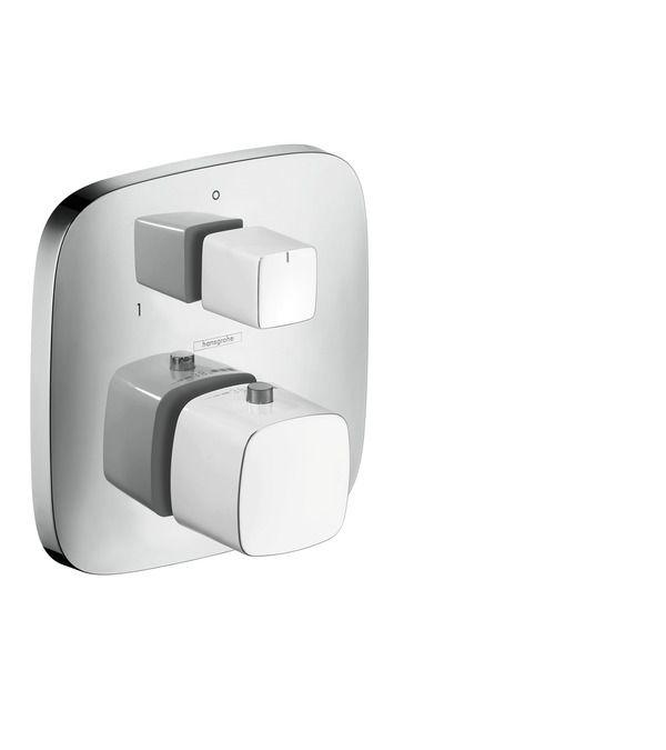 PuraVida Смесители для ванны: 2 потребителя, белый/хром, Арт. № 15771400 #hansgrohe #смесители #душ #sclux #интерьер