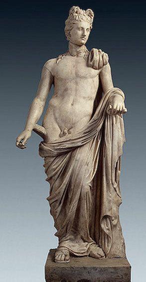 APOLLO - 2nd century, Roman copy from a Greek original