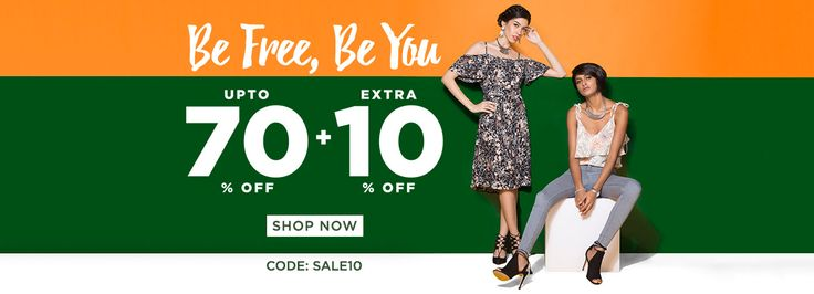 Independence day offer!! Jabong.com, brings to all an Indian Independence day…