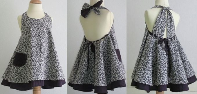 Готовая выкройка детского платья-сарафана на возраст от 1 года до 14 лет (Шитье и крой) | Журнал Вдохновение Рукодельницы