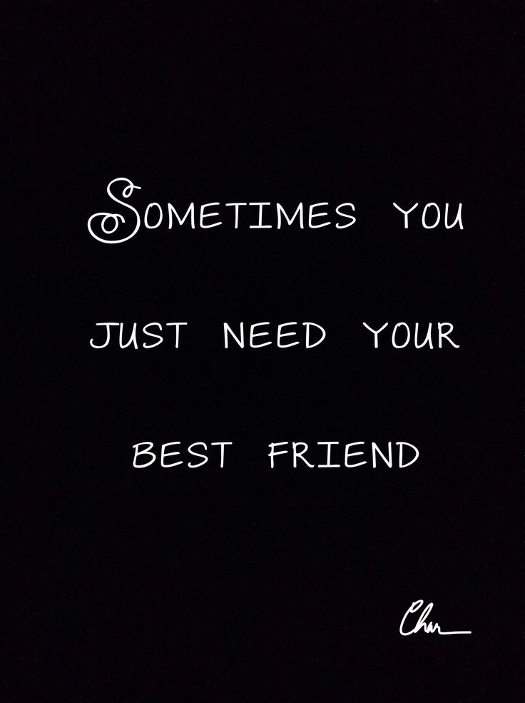 Sometimes you just need your best friend. Some days the only person who can fix…