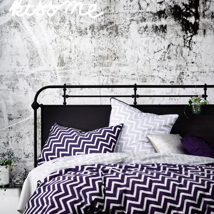 Cusco in Amethyst Bedlinen     From the giddy peak of Machu Picchu, you look back down the zig zagging path to the now distant memory of Cusco and know the journey was worth it. Ancient Incan steps of Amethyst work their magical way across soft, bruised clouds, leading you ever onwards to this timeless perfection.